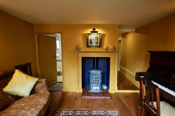 Pond Cottage log burner
